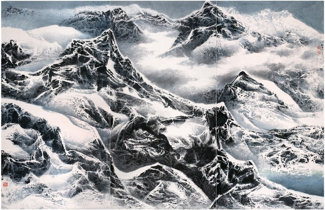 , 'Snowy snowy mountains 雪滿群山,' 2015, Galerie du Monde