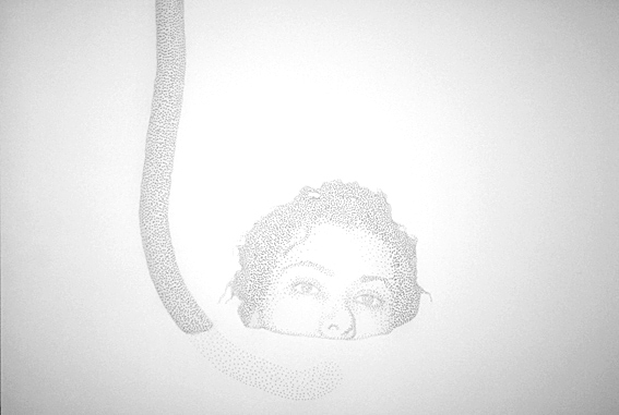 ", 'Untitled, ""Fly woman"" series,' 2007, N2 Galería"