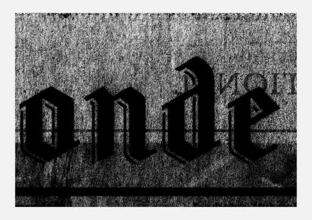 , 'Le Monde 3 novembre 2015,' 2016, MLF   MARIE-LAURE FLEISCH