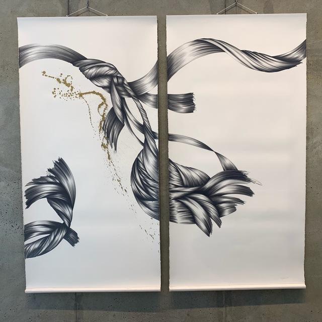 , 'Diptych HT,' 1999, Tufenkian Fine Arts
