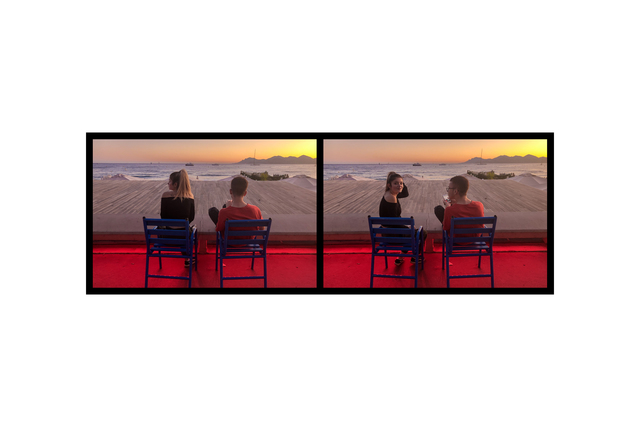 Eve Sonneman, 'Red Glow 2, Cannes, France', 2019, Nohra Haime Gallery