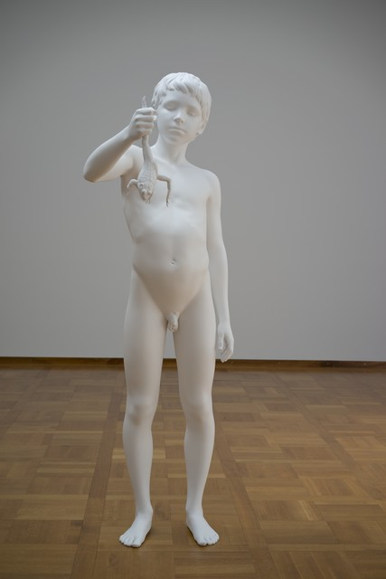 , 'Boy with Frog,' 2008, Philadelphia Museum of Art