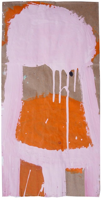 , 'Small Stacked Cake #18 (Pink on Orange),' , Gail Severn Gallery