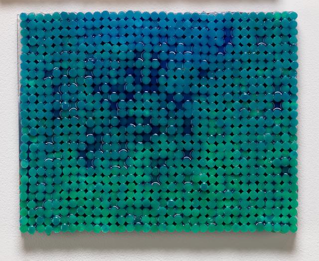 Sean Healy, 'Blue on Green', 2018-2019, Elizabeth Leach Gallery