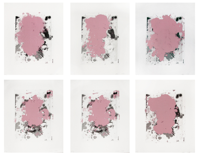 Christopher Wool, 'Portraits (Red)', 2014, Hamilton-Selway Fine Art