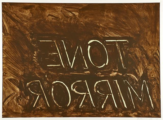 , 'Tone Mirror,' 1974, MILL Contemporary