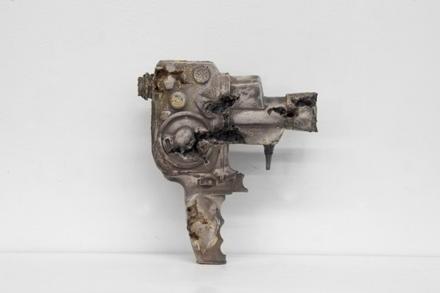 , 'Steel Eroded Bolex Camera,,' 2013, Galerie Ron Mandos