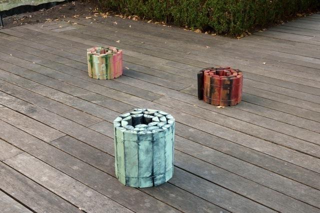 , 'Peinture roulée (3 pièces),' 2002-2004, Baronian Xippas