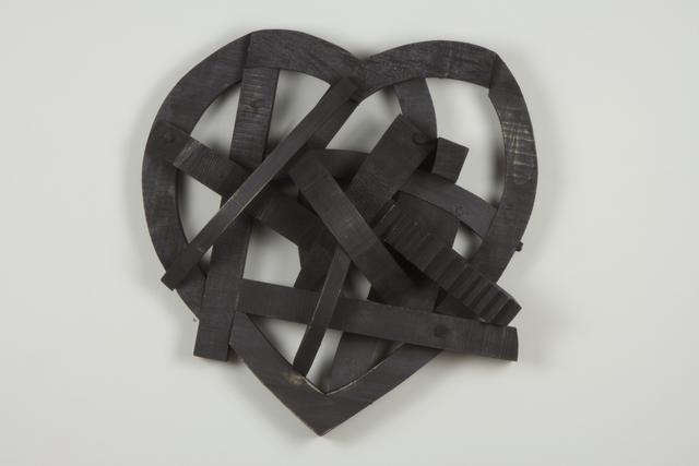 , 'Black Heart,' 2015, Sue Greenwood Fine Art
