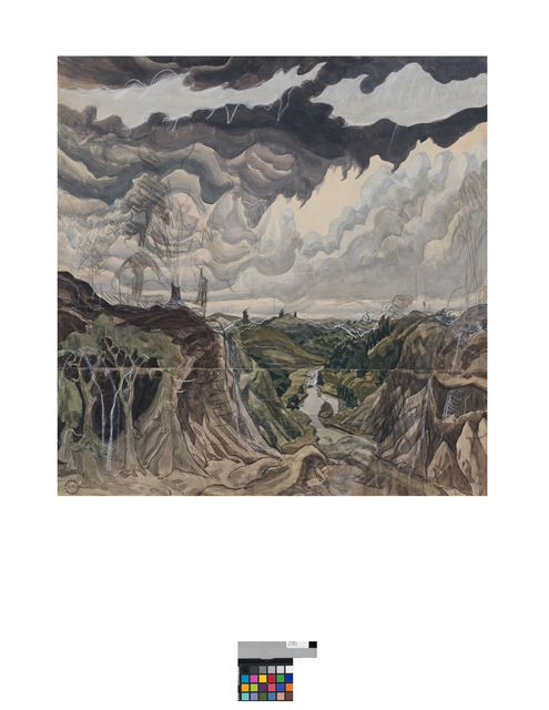 , 'Jaws of the World,' 1920, DC Moore Gallery