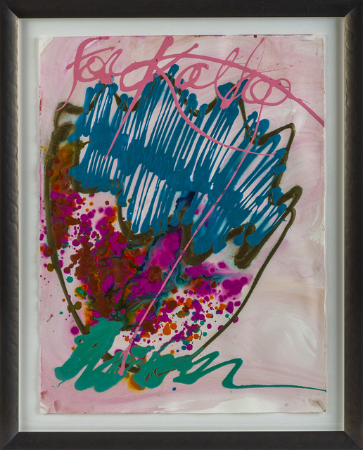 Dale Chihuly, 'Dale Chihuly Untitled Macchia Original Signed Watercolor and Acrylic Contemporary Art Painting', 1990-2009, Modern Artifact