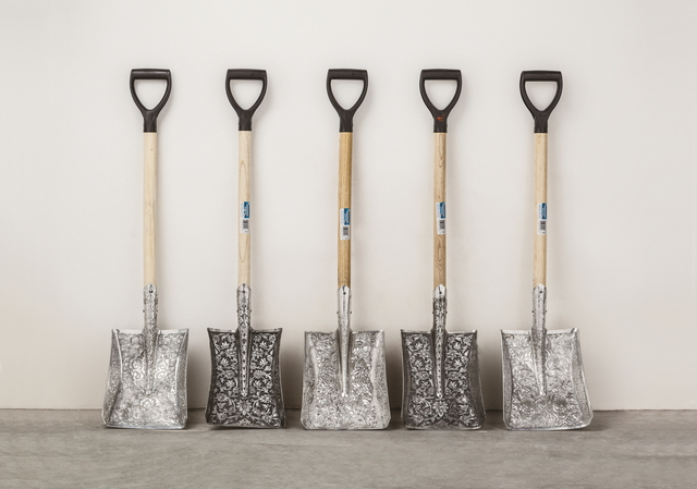 , 'Engraved Shovel,' 2016, Gallery Hyundai