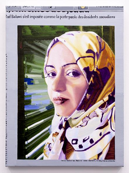 simeón saiz ruiz, 'S/T', 2015, Painting, Oil on canvas, F2 Galería