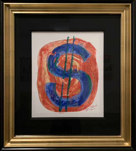 Ronnie Wood, 'Dollar Sign', 2012, HG Contemporary