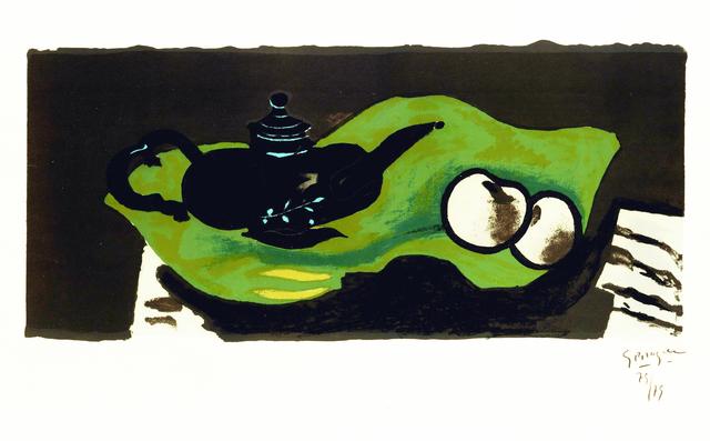 , 'Théière et pommes,' 1946, Galerie Raphael