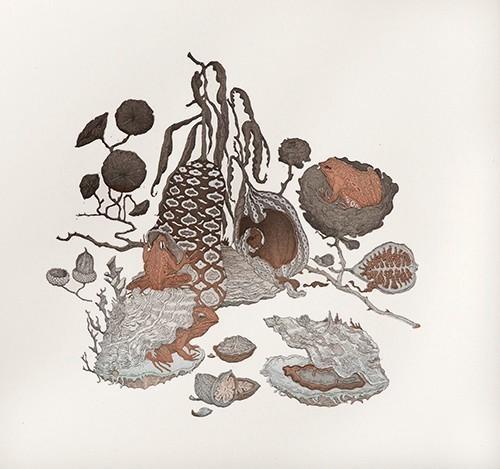 , 'Xenia II,' 2016, Himmelblau Printmaking Finland