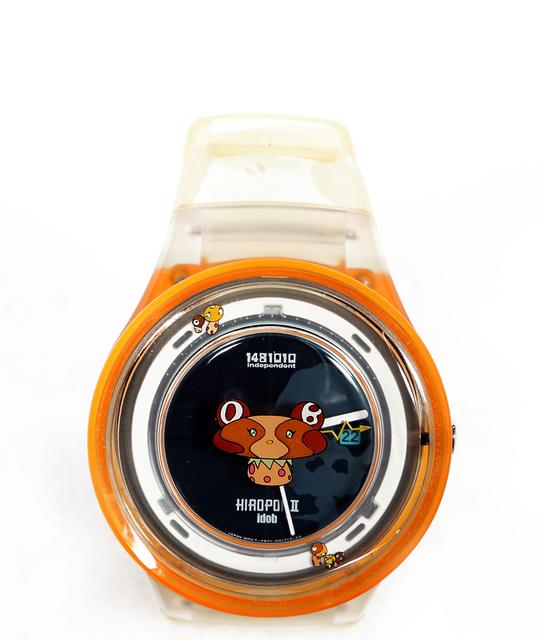 Takashi Murakami, 'Hiropon II Bear Solar Citizen Watch', 1998, Jewelry, Plush Toy and Watch, RoGallery