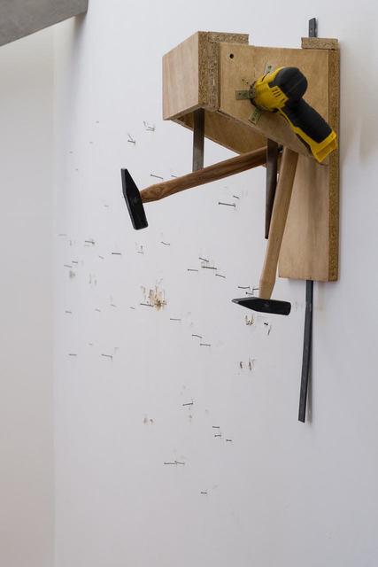 , 'Two Nails (Hommage à Lagaffe),' 2017, mariondecannière