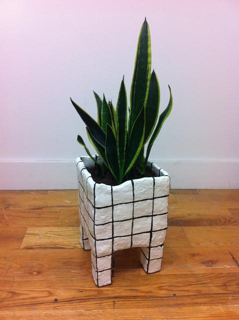 , 'Grid planter,' 2015, Johannes Vogt Gallery