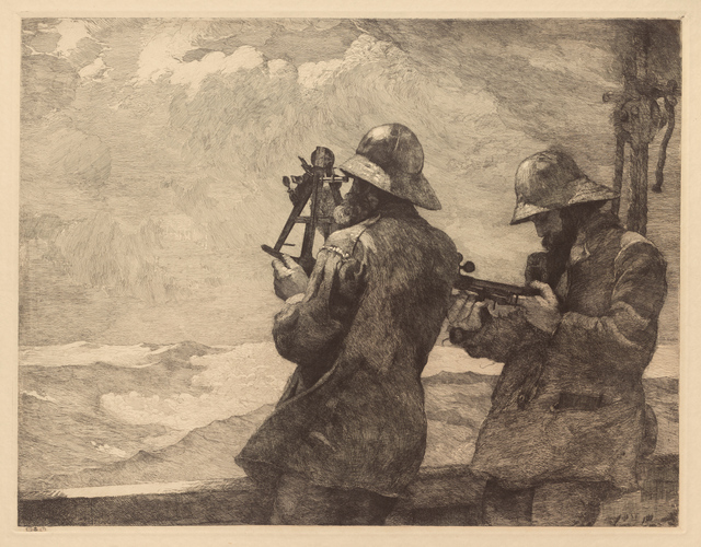 , 'Eight Bells,' 1887; probably printed c. 1940, Clark Art Institute