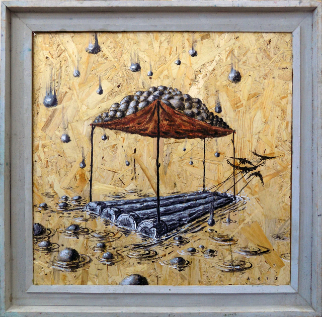 , 'Raft,' 2015, TOLK Gallery