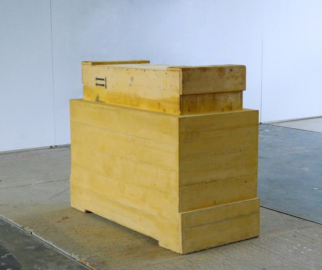 , 'Concrete Art Transport Crate,' 2015, Häusler Contemporary