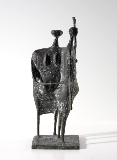 , 'Two Standing Figures,' 1955, Osborne Samuel