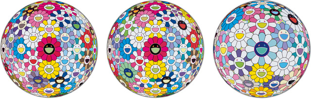 Takashi Murakami, 'Space Show; Hold me tight; and Cosmic power', 2016, Phillips