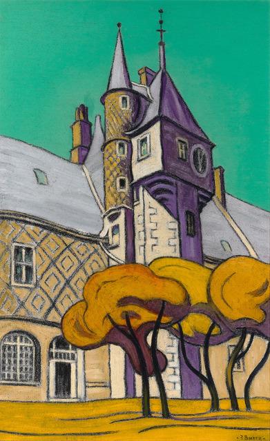 Sir Claude Francis Barry, 'Château de Gien', 1965,  M.S. Rau Antiques