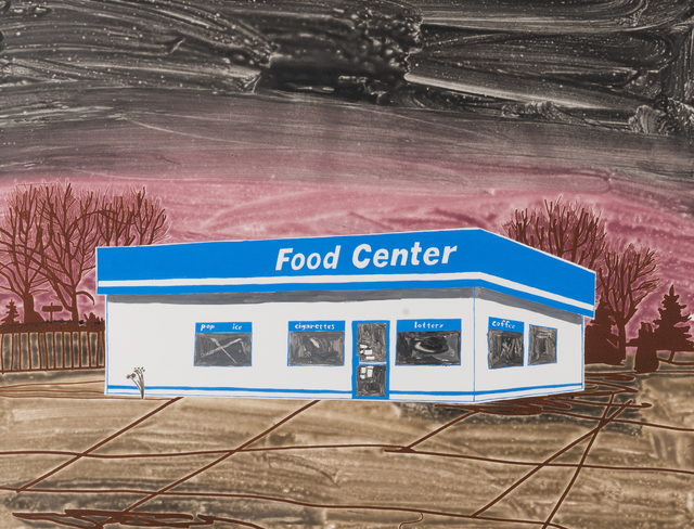 , 'Food Center (Brown),' 2017, Highpoint Editions