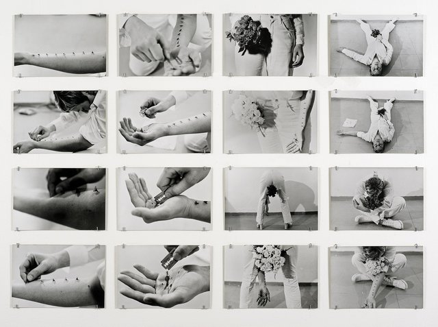 Gina Pane, 'Azione Sentimentale, 9 novembre 1973', 1973, Richard Saltoun