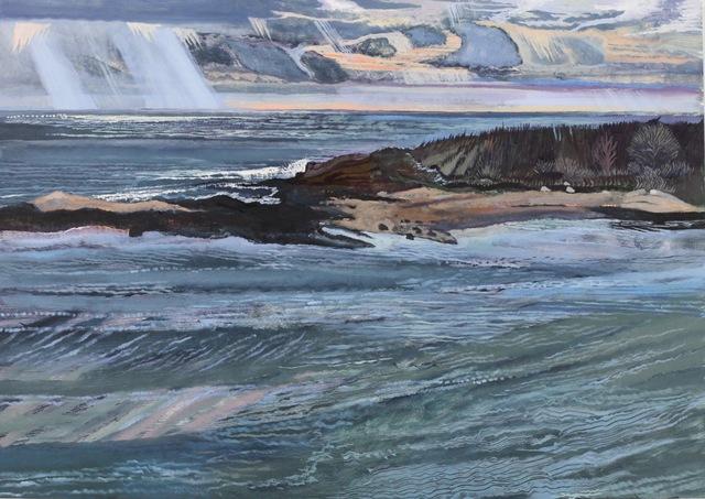 , 'Island in Winter,' 2018, Gallery NAGA