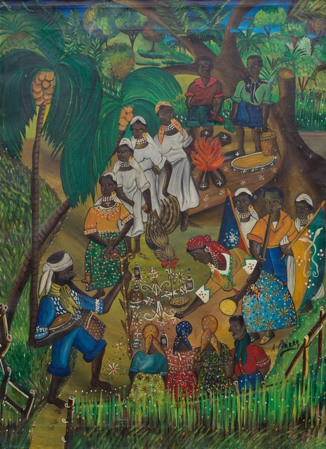 André Pierre, 'Ceremony for Legba', ca. Early 1960's, ZQ Art Gallery