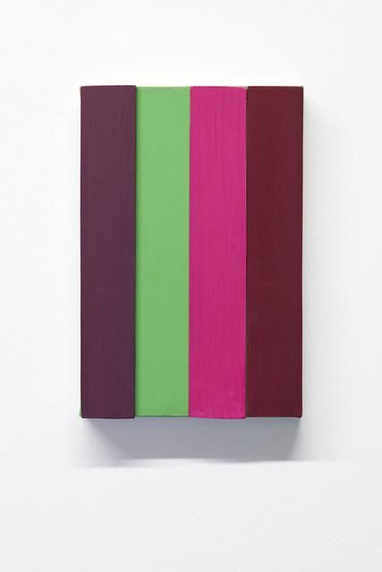 , 'Telas com Tiras,' 2015, Lange + Pult