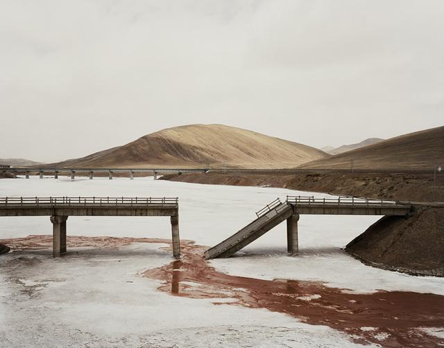Nadav Kander, 'Qinghai Province II', Photography, Chromogenic print, Blindspot Gallery