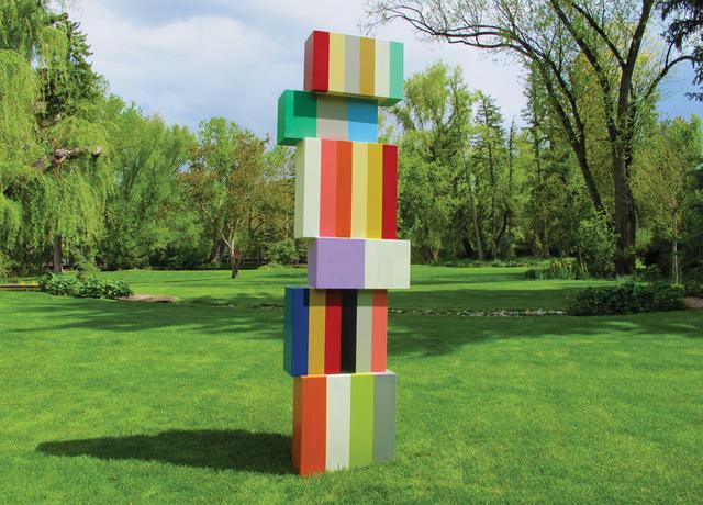 Pard Morrison, 'Outlier', 2014, Sculpture, Fired pigment on aluminum, Brian Gross Fine Art