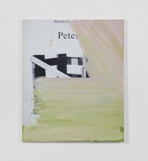 , 'Bookpaiting #Martin Kippenberger,' , Martin Asbæk Gallery