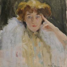, 'Mademoiselle Adrienne,' ca. 1890, Charles Nodrum Gallery