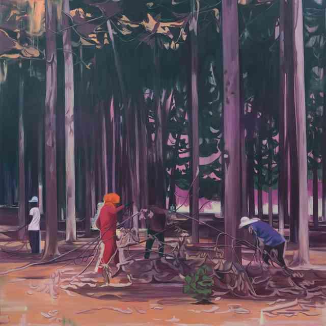 , '牧林人B Forest Keepers B,' 2017, Matthew Liu Fine Arts