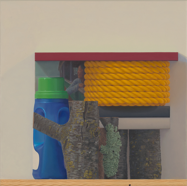 , 'Red, Yellow Rope and Blue,' 2015, Paul Thiebaud Gallery