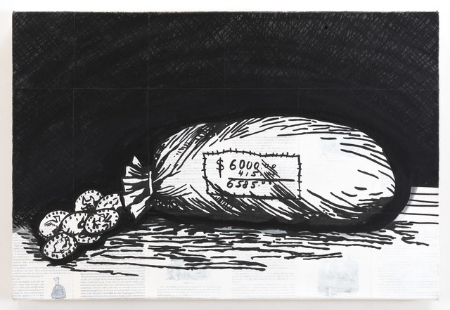 , 'Adventures of Huckleberry Finn - The Bag of Money,' 2011, Lehmann Maupin
