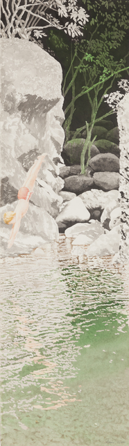, 'Dive (Chinese Landscape VIII),' 1985, Childs Gallery