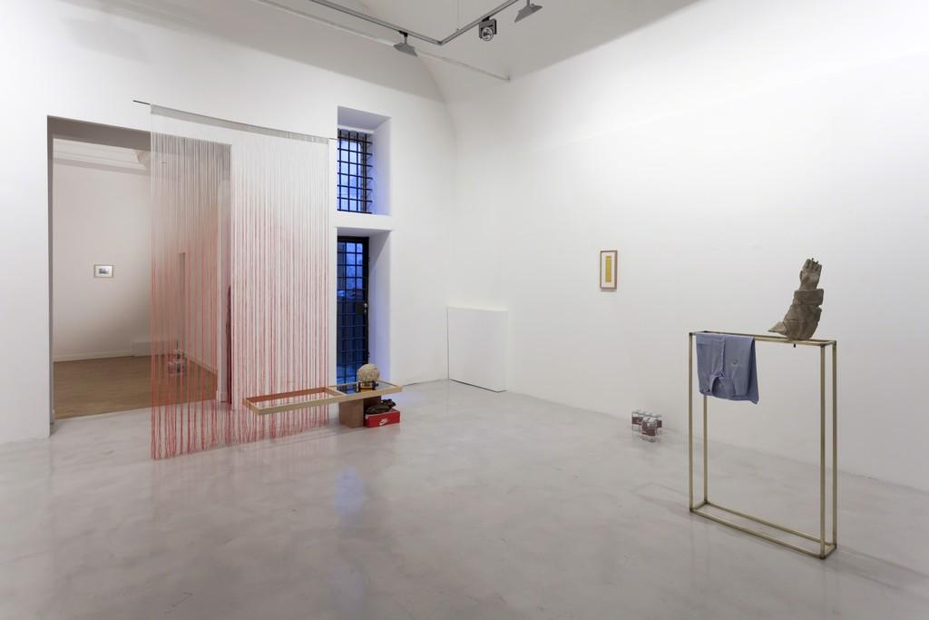 "Fabio Ranzolin ""Bye Bye Circo Massimo"" installation view"
