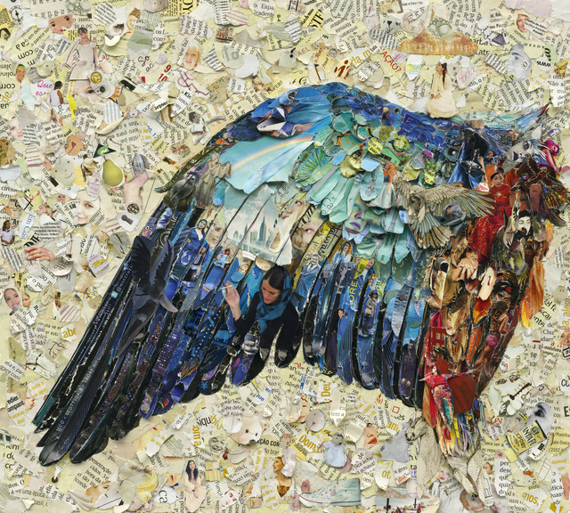 Vik Muniz, 'Wing of a Blue Roller, after Albrecht Dürer (Pictures of Magazines 2)', Sikkema Jenkins & Co.