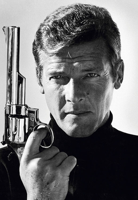 Terry O'Neill, 'Roger Moore as James Bond', 1970's, Photography, Silver Gelatin Print, Gallery 270