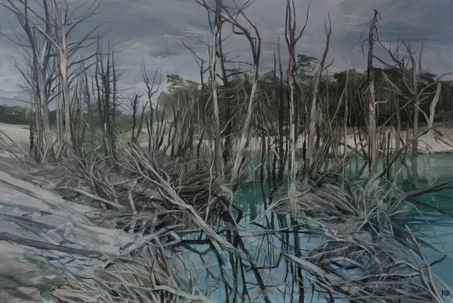 , 'Savage Pond III Study,' 2018, Nanda\Hobbs
