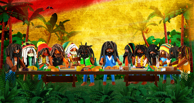 Richard Unglik, 'The Last Rasta Supper ', 2017, Artist's Proof