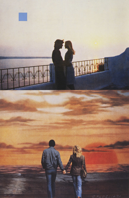 , 'Two Sunsets (One with Square Blue Moon),' 1994, Gemini G.E.L.