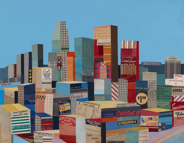 ", 'Los Angeles ""Bring your troubles to us"",' 2011, Sue Greenwood Fine Art"