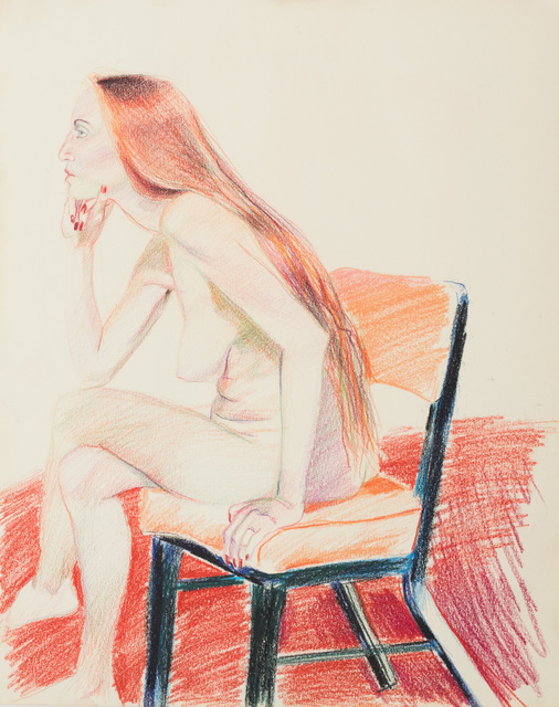 , 'Nude Red Lady,' , Galerie Thomas Fuchs